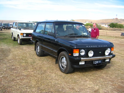IMG_5529 Range Rover CSK & 1972 Cooma 23-3-2008