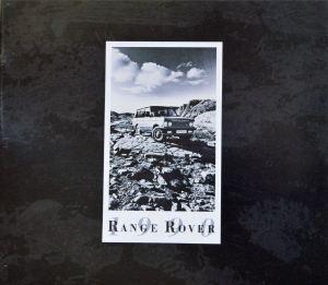 Range Rover Australia 1990 Brochure Cover