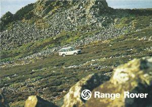 Range Rover Brochure Cover 1975
