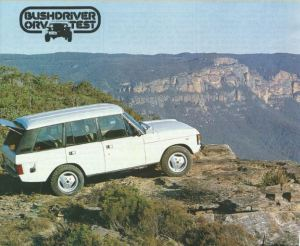 Range Rover Four Door Road Test Title Image October 1982